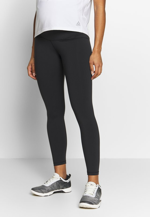 Y LUX 2.0MATERNITY TIGHT - Leggings - black