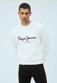 Pepe Jeans - GEORGE - Sweatshirt - blanco off - 0