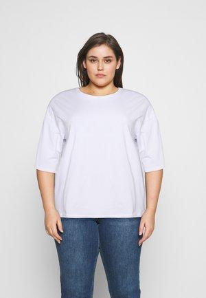NMHAILEY - Jednoduché triko - bright white