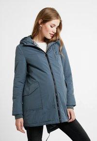 Esprit Maternity - JACKET - Winter jacket - maladive blue - 0