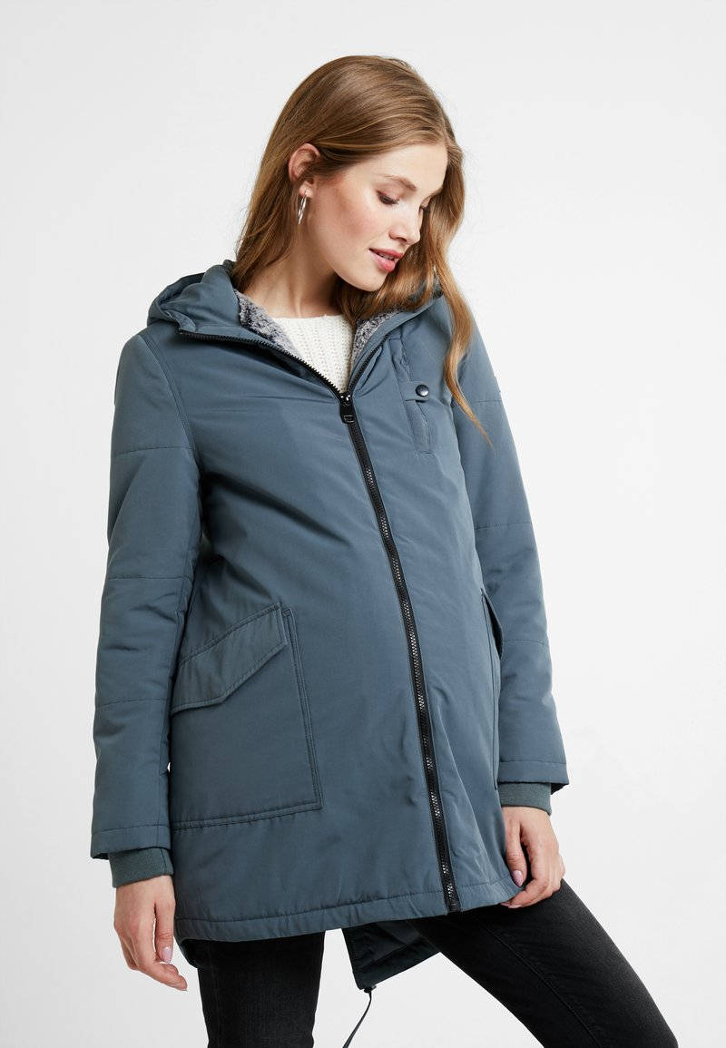 Esprit Maternity - JACKET - Winter jacket - maladive blue