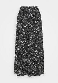 ONLY Tall - ONLZILLE MAXI SKIRT - Maxi skirt - black/white - 1