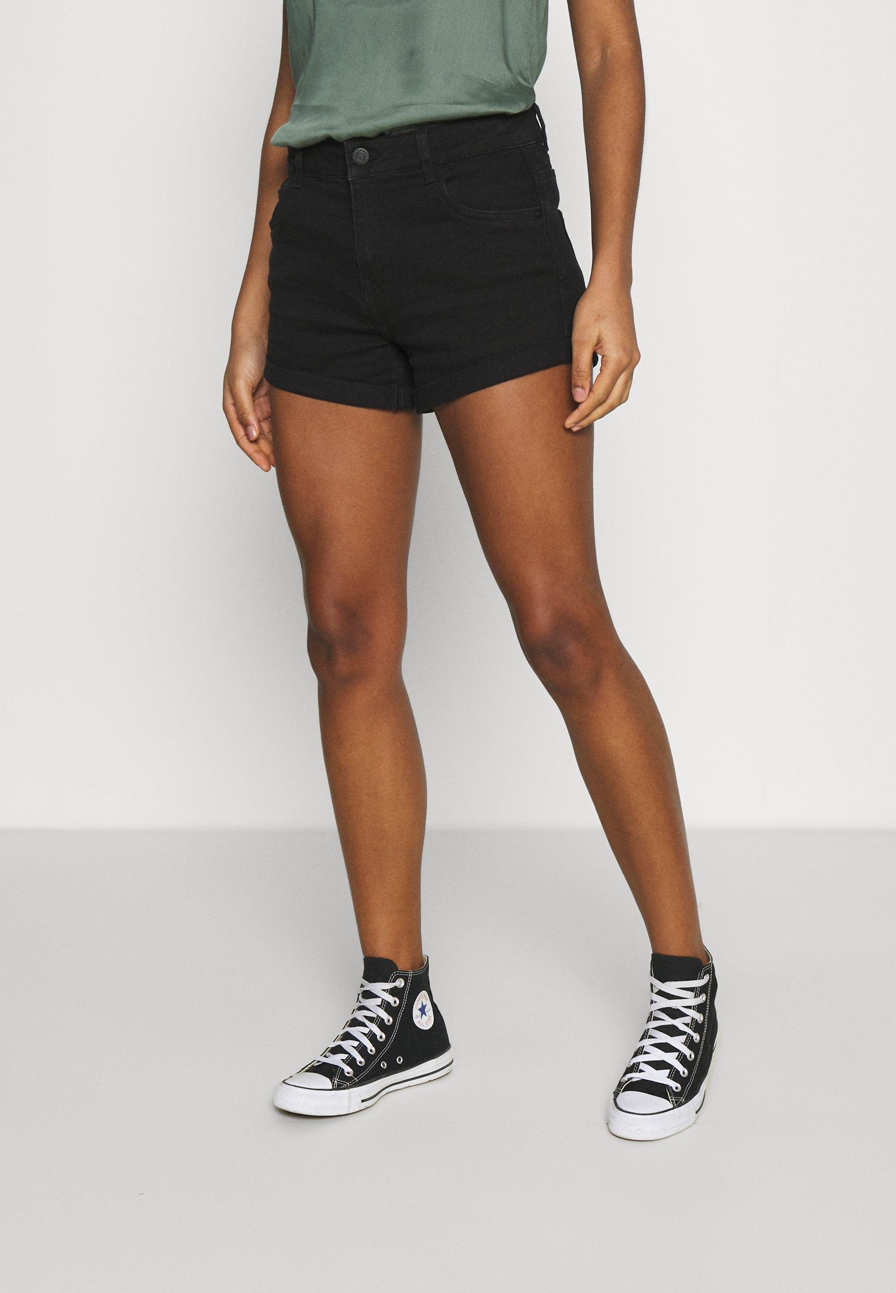 Women NMSHORTY - Denim shorts