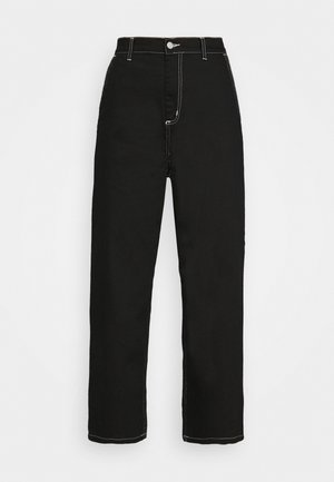 W' ARMANDA PANT - Relaxed fit jeans - black