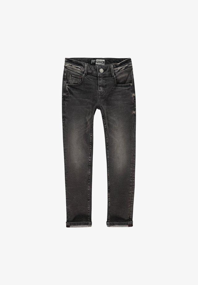 BOSTON  - Slim fit jeans - black