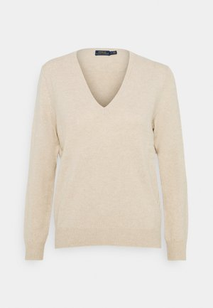 CLASSIC LONG SLEEVE - Jumper - tallow cream
