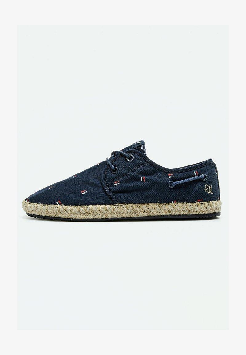 Pepe Jeans - TOURIST BRENNAN - Sneakers - azul marino