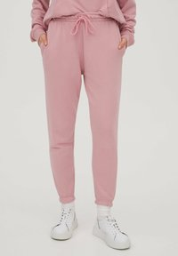 PULL&BEAR - Trainingsbroek - mottled pink - 0