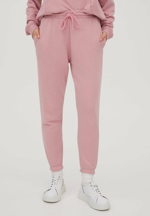 Tracksuit bottoms - mottled pink