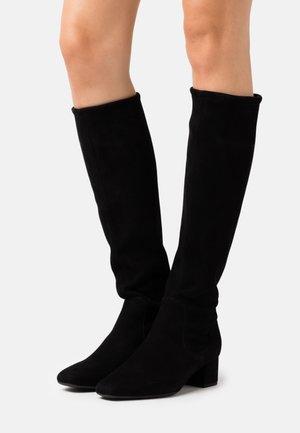 TOMKE - Vysoká obuv - schwarz