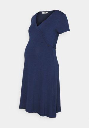 DRESS NURSING - Jersey dress - blue