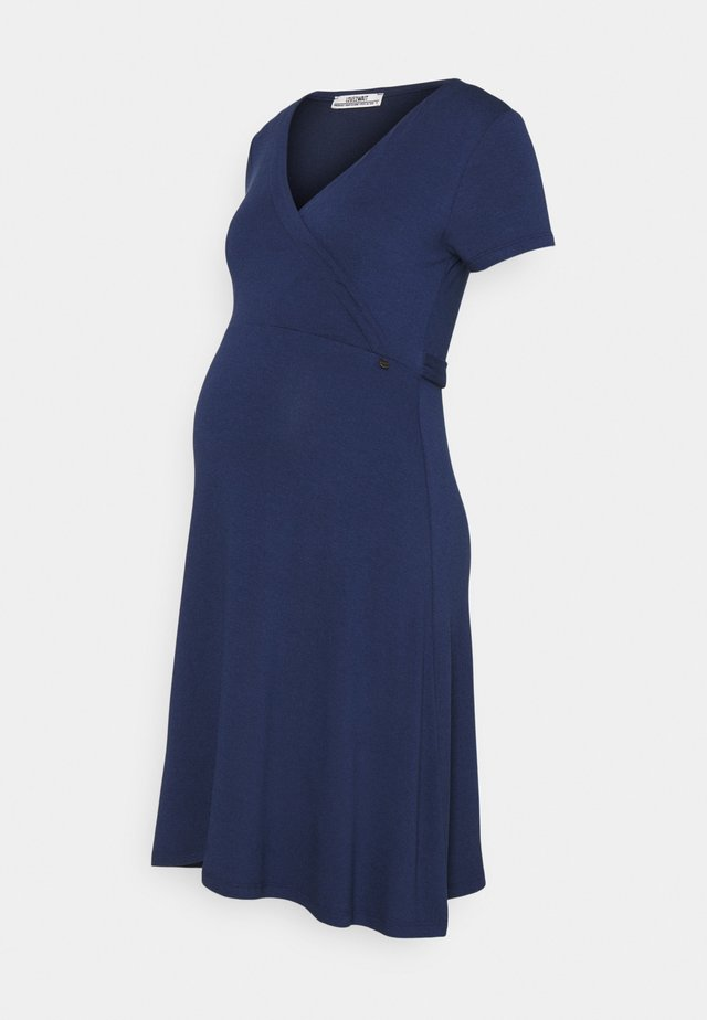 DRESS NURSING - Jerseyjurk - blue