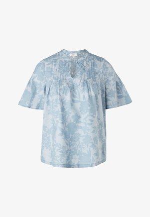 Blouse - blue fog aop