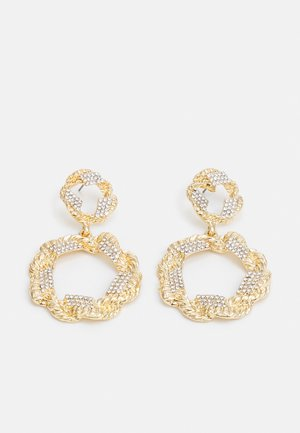 PCORILLA EARRINGS  - Kolczyki - gold-coloured