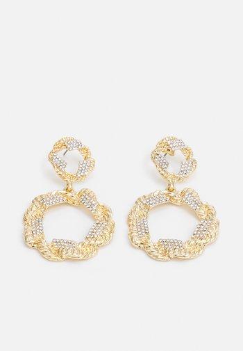 PCORILLA EARRINGS  - Earrings - gold-coloured