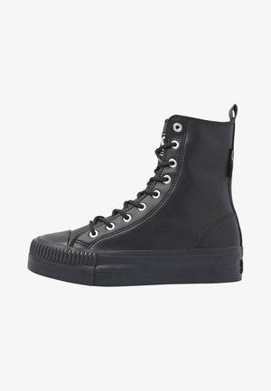 KAYA HIGH - Sneakers hoog - black black