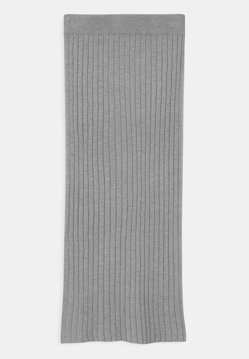 Grunt - ELSE  - Maxi sukně - grey melange