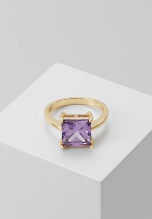 LADY SQUARE RING - Ring - purple