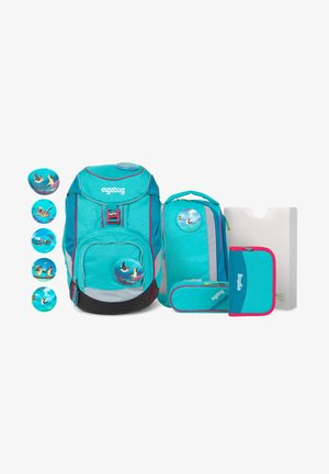 SET - Schooltas set - turquoise