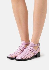 ASRA - SIBS - Sandals - orchid - 0