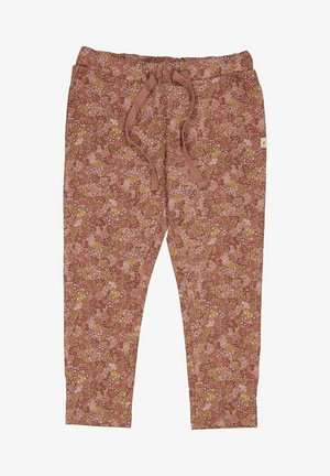 ELLY - Tracksuit bottoms - rose cheeks flowers