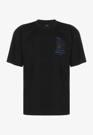 SURVEILLANCE - T-shirt med print - black garment washed