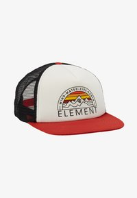 Element - ODYSSEY TRUCKER - Cap - pompeian red - 5