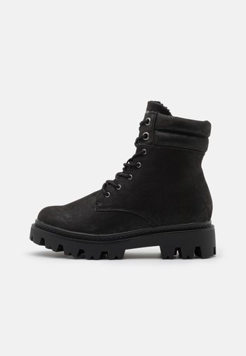 VMSIA BOOT - Lace-up ankle boots - black