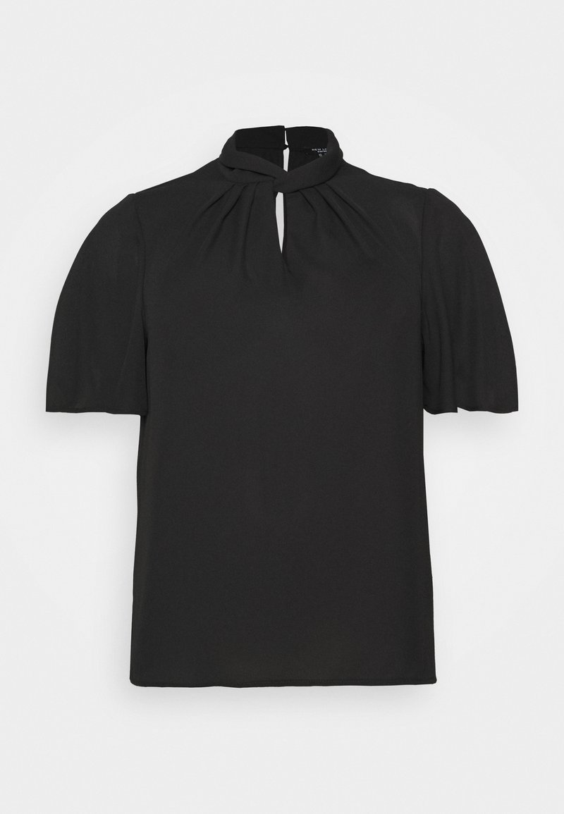 New Look Curves - TRACEY TWIST FRONT SHELL - Blouse - black