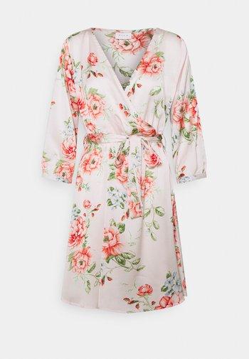 VIJOSE LUNA SHORT DRESS - Vestido informal - pale mauve