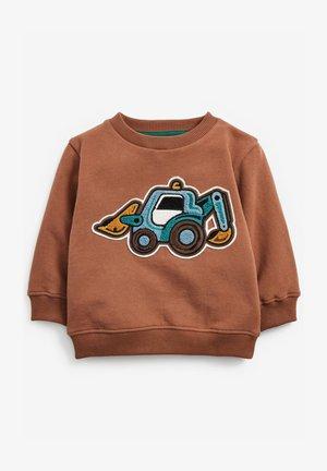 BOUCLÉ - Sweatshirt - brown