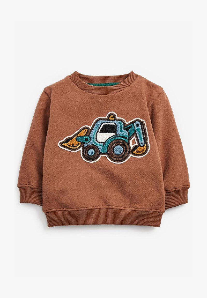 Next - BOUCLÉ - Sweater - brown