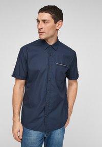 s.Oliver - Shirt - dark blue - 0