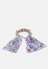 Pieces - PCROSA THREADED BRACELET - Bracelet - gold-coloured /purple - 1