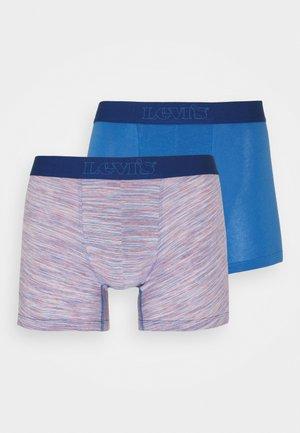 MICRO STRIPE BOXER BRIEF 2 PACK - Pants - blue