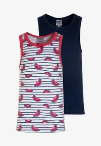 Jacky Baby - VEST MELON GIRLS 2 PACK  - Undershirt - blue - 0