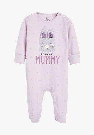 I LOVE MY MUMMY BUNNY - Sleep suit - grey