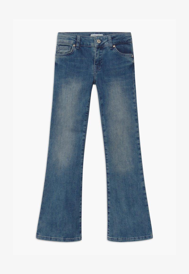 Cars Jeans - VERONIQUE - Džíny Bootcut - blue denim