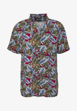 RAYON CAMP TIGER  - Shirt - saucy red