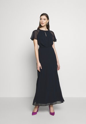 BLUSH PLEAT FRONT KEYHOLE MAXI DRESS - Ballkjole - dark blue