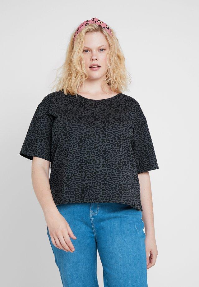 LADIES TEE - Print T-shirt - charcoal