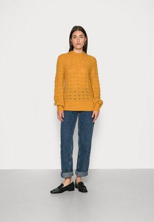 HILLA CUFF - Pullover - harvest gold melange