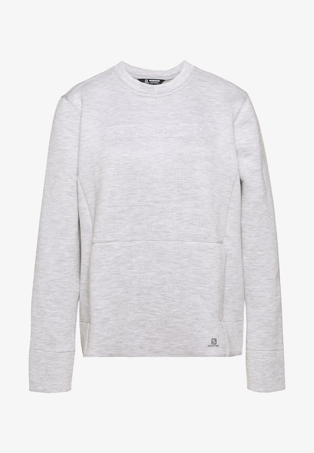 SIGHT CREW NECK - Sweatshirt - alloy/lunar rock/heather