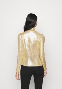 Monki - VANJA - Long sleeved top - yellow/gold - 2