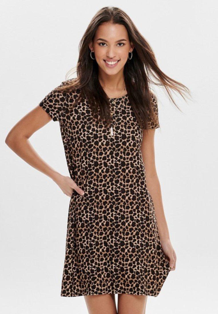 ONLY - BERA  - Jersey dress - black