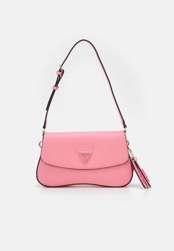 CORDELIA FLAP SHOULDER - Across body bag - pink