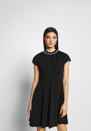PARL PAVE DRESS - Vestido de cóctel - black