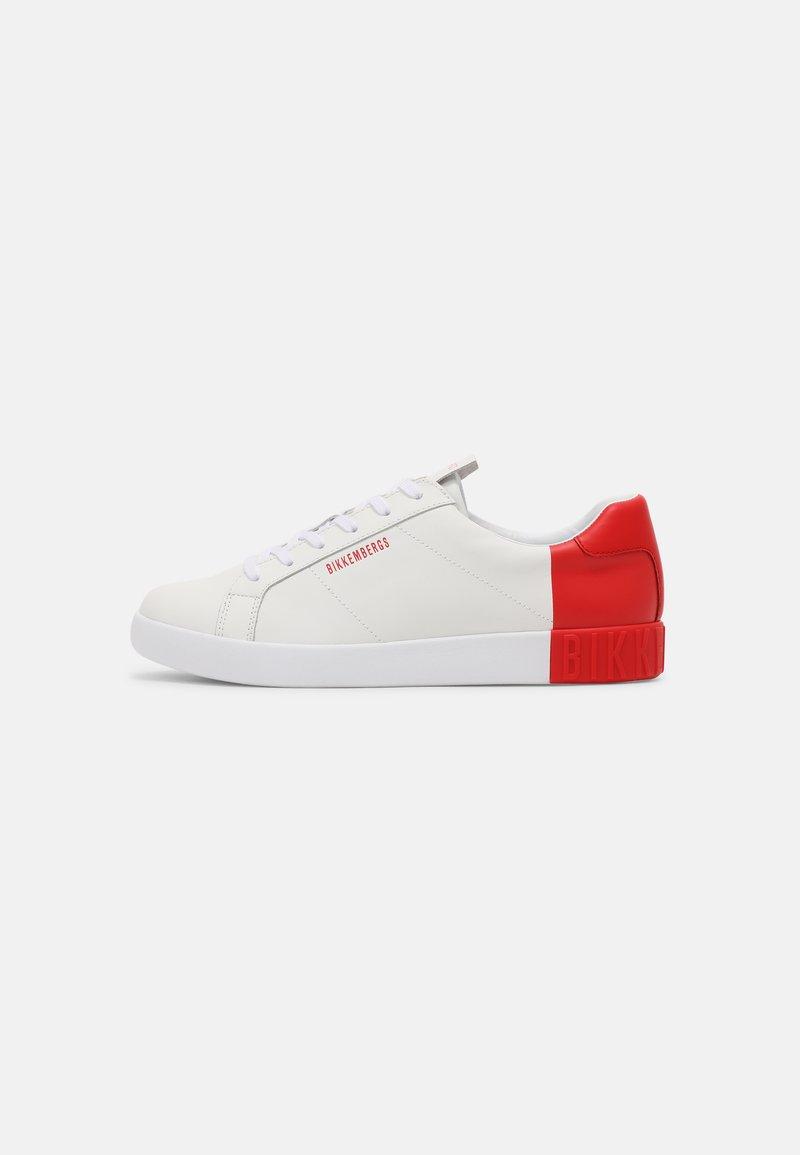 Bikkembergs - SAUL - Sneakers laag - white/red