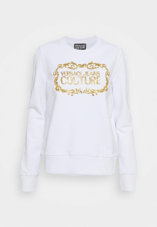 LADY LIGHT - Bluza - optical white/gold