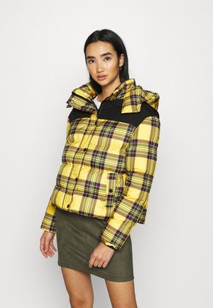 LADIES PUFFER JACKET - Winter jacket - bright yellow